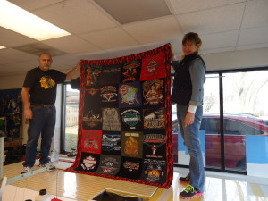 Harley Quilt created for D. Therman